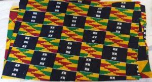 Coupon de tissu africain